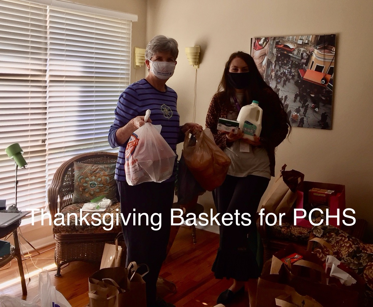 Thanksgiving Baskets for PCH&S